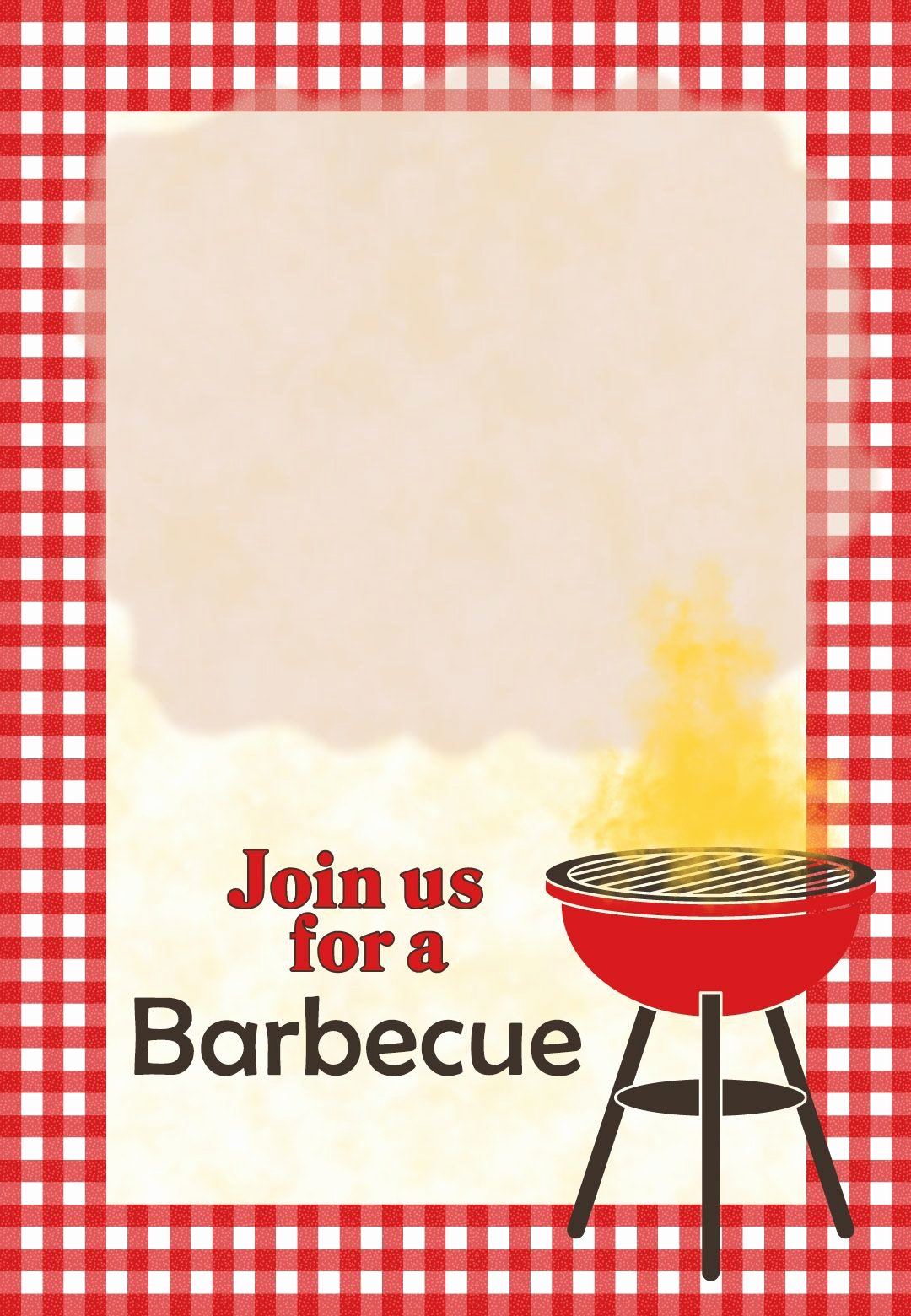 Bbq Invitation Template Word Best Of A Barbecue Free Printable Party Invitation Template