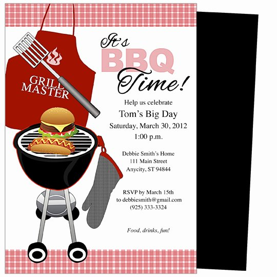Bbq Invitation Template Word Lovely 12 Best S Of Summer Bbq Invitation Word Template