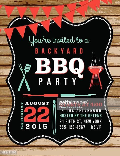 Bbq Invitation Template Word New Barbecue Stock Illustrations and Cartoons