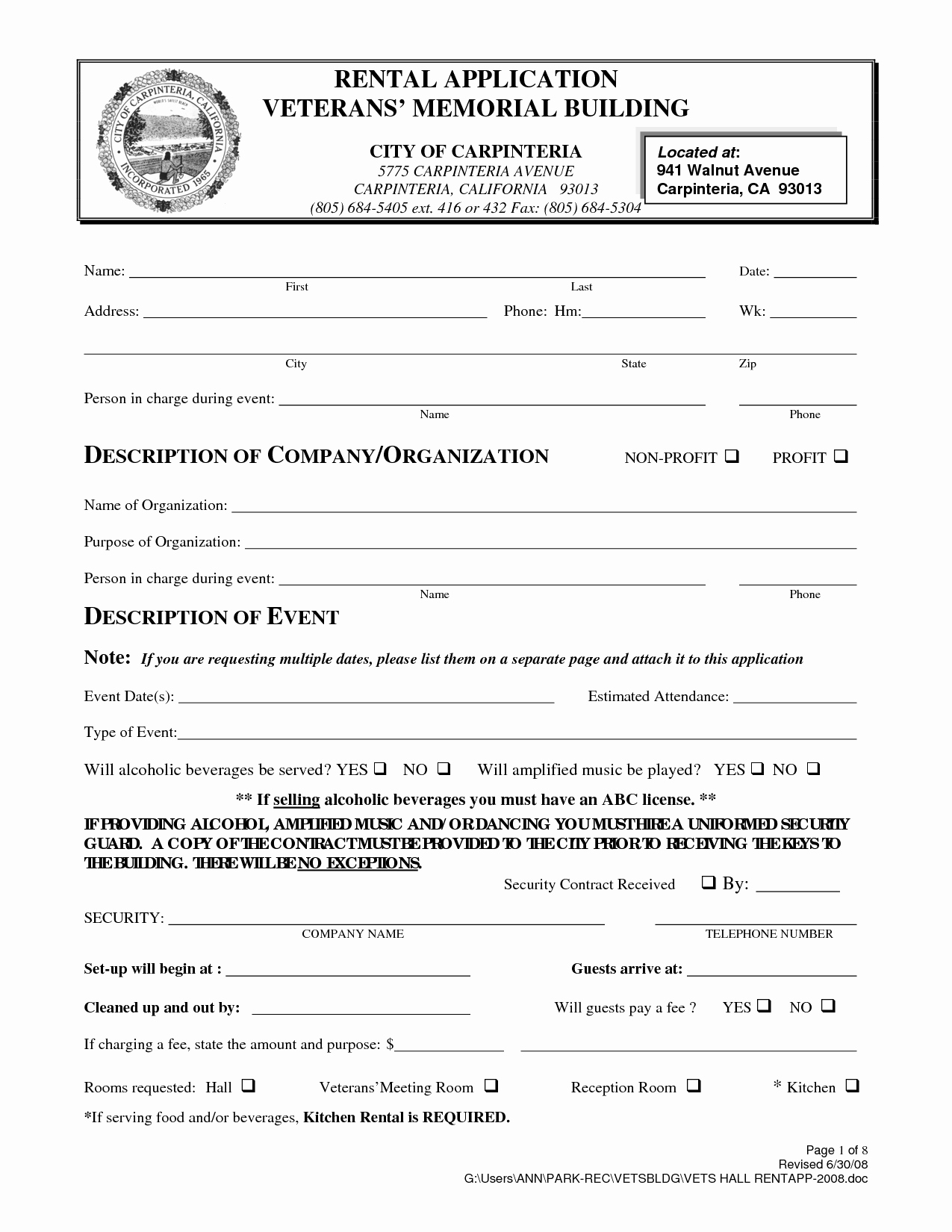 Beat Lease Contract Template New Free Rental Agreement form California