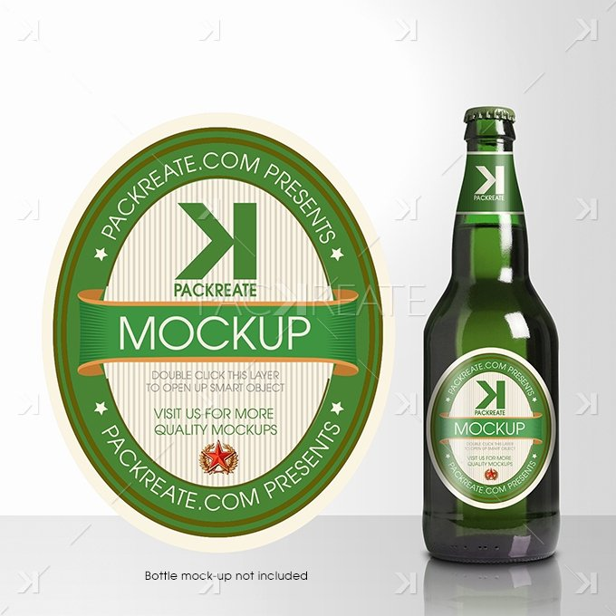 Beer Can Label Template Beautiful Packreate Beer Bottle Label Psd Template