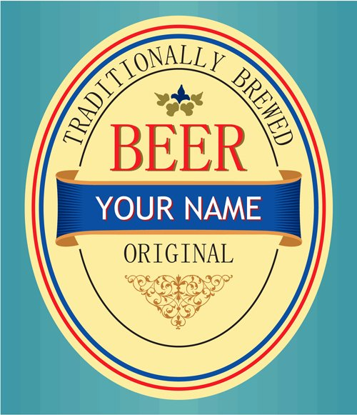 Beer Can Label Template Lovely Beer Label Template to Pin On Pinterest Pinsdaddy