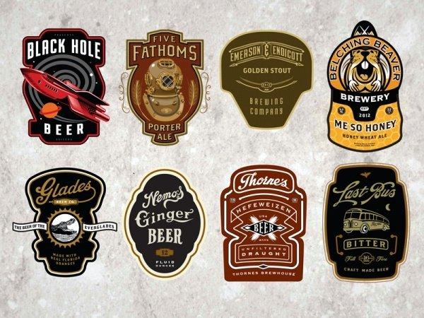 Beer Can Label Template Unique 23 Bottle Labels Psd Vector Eps Jpg Download