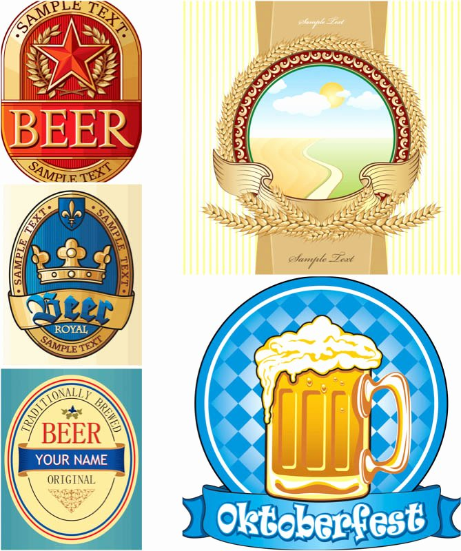 Beer Label Template Free New Beer Label Template