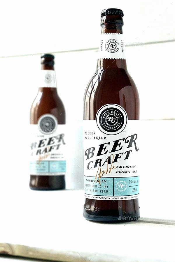 Beer Label Template Illustrator Awesome Beer Bottle Template Beer Label Template Illustrator