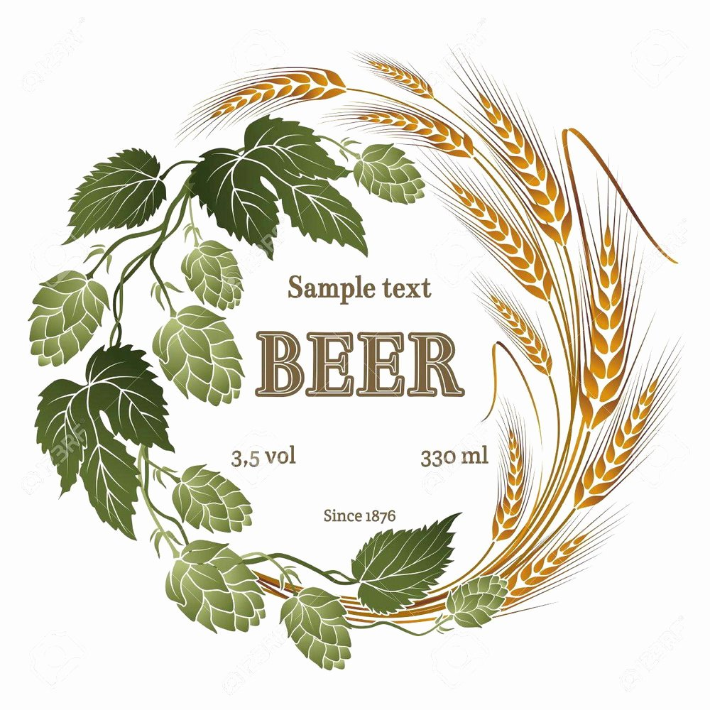 Beer Label Template Illustrator Best Of Beer Label Template Templates