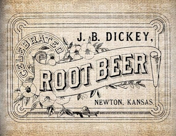 Beer Label Template Illustrator Inspirational Antique Root Beer Label Vintage Illustration by