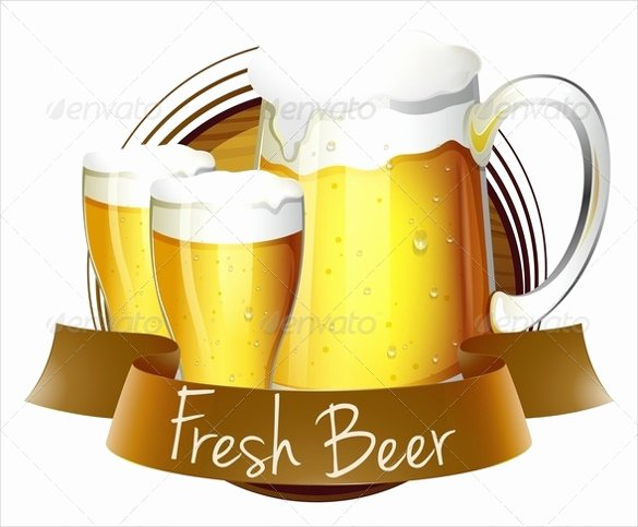 Beer Label Template Illustrator Lovely Beer Label Template 27 Free Eps Psd Ai Illustrator