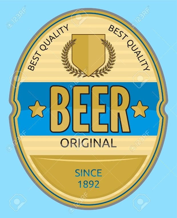 Beer Label Template Illustrator Unique 20 Beer Labels Psd Eps Ai Illustrator