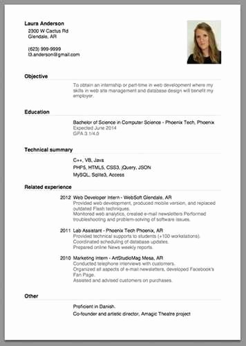 Beginner Acting Resume Template New Beginner Acting Resume Sample source