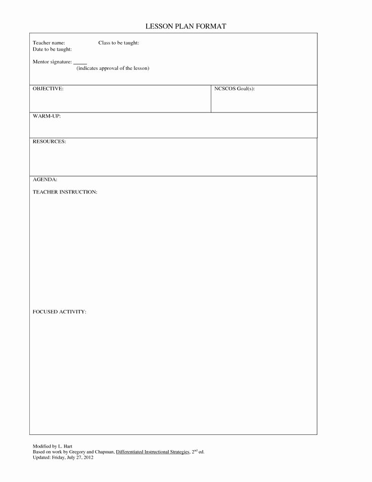 Best Lesson Plan Template Best Of Best 25 Blank Lesson Plan Template Ideas On Pinterest