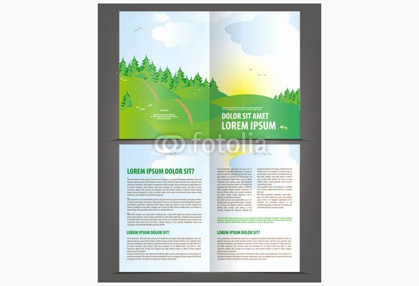 Bi Fold Brochure Template Beautiful Printable Bi Fold Brochure Templates 79 Free Word Psd