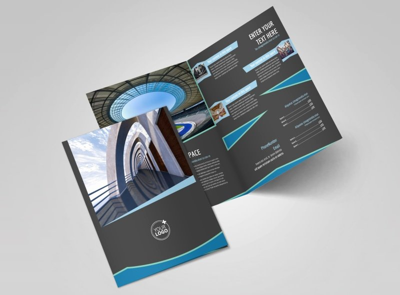Bi Fold Brochure Template Best Of Architecture & Design Firm Bi Fold Brochure Template