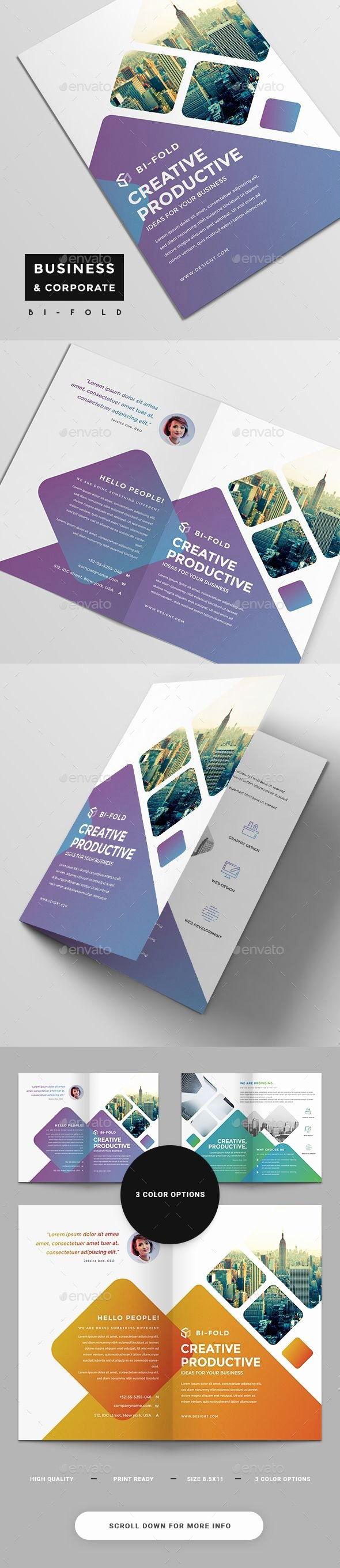 Bi Fold Brochure Template Inspirational 25 Best Ideas About Bi Fold Brochure On Pinterest