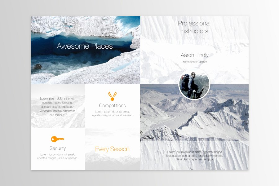 Bi Fold Brochure Template Lovely Free Publisher Templates for Mac