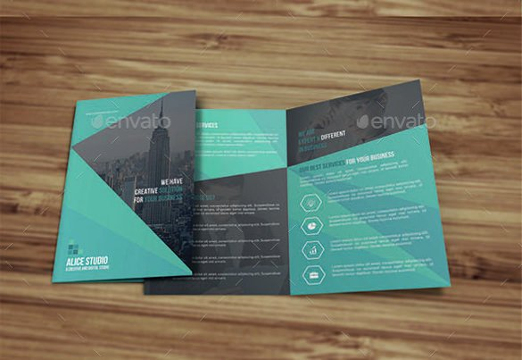 Bi Fold Brochure Template New Bi Fold Brochure Templates – 47 Free Psd Ai Vector Eps