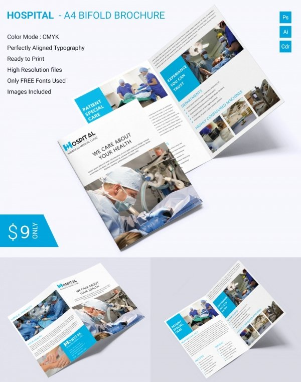 Bi Fold Brochure Template Unique Printable Bi Fold Brochure Template – 67 Free Word Psd