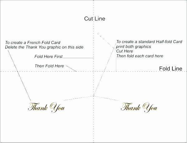 bi fold greeting card template