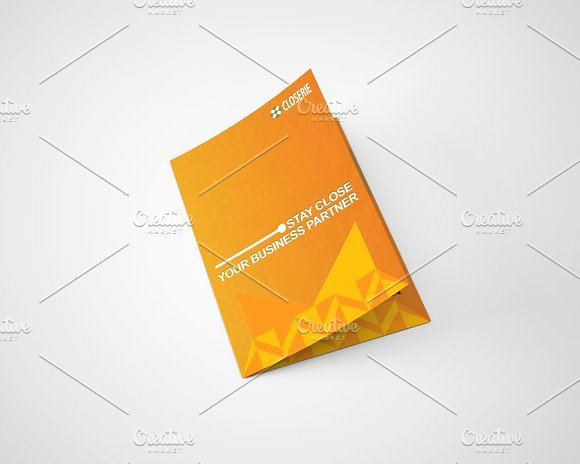 Bi Fold Program Template Unique Closerie Bi Fold Brochure Template Brochure Templates