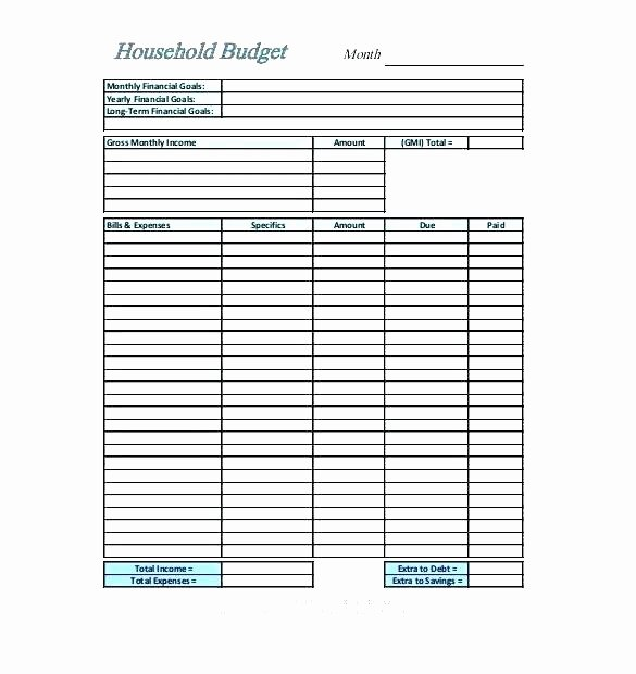 Bi Weekly Budget Template Elegant Pretty Bi Weekly Bud Template S Bi Weekly Bud