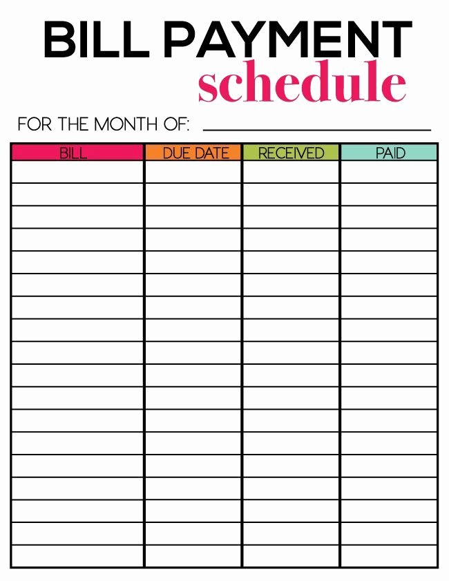 Bill Paying Calendar Template Inspirational Free Printables for Newsletter Subscribers Thirty