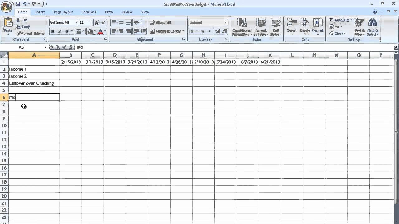 Bill Payment Schedule Template Lovely Easy Bud Bill Payment Schedule for Real People