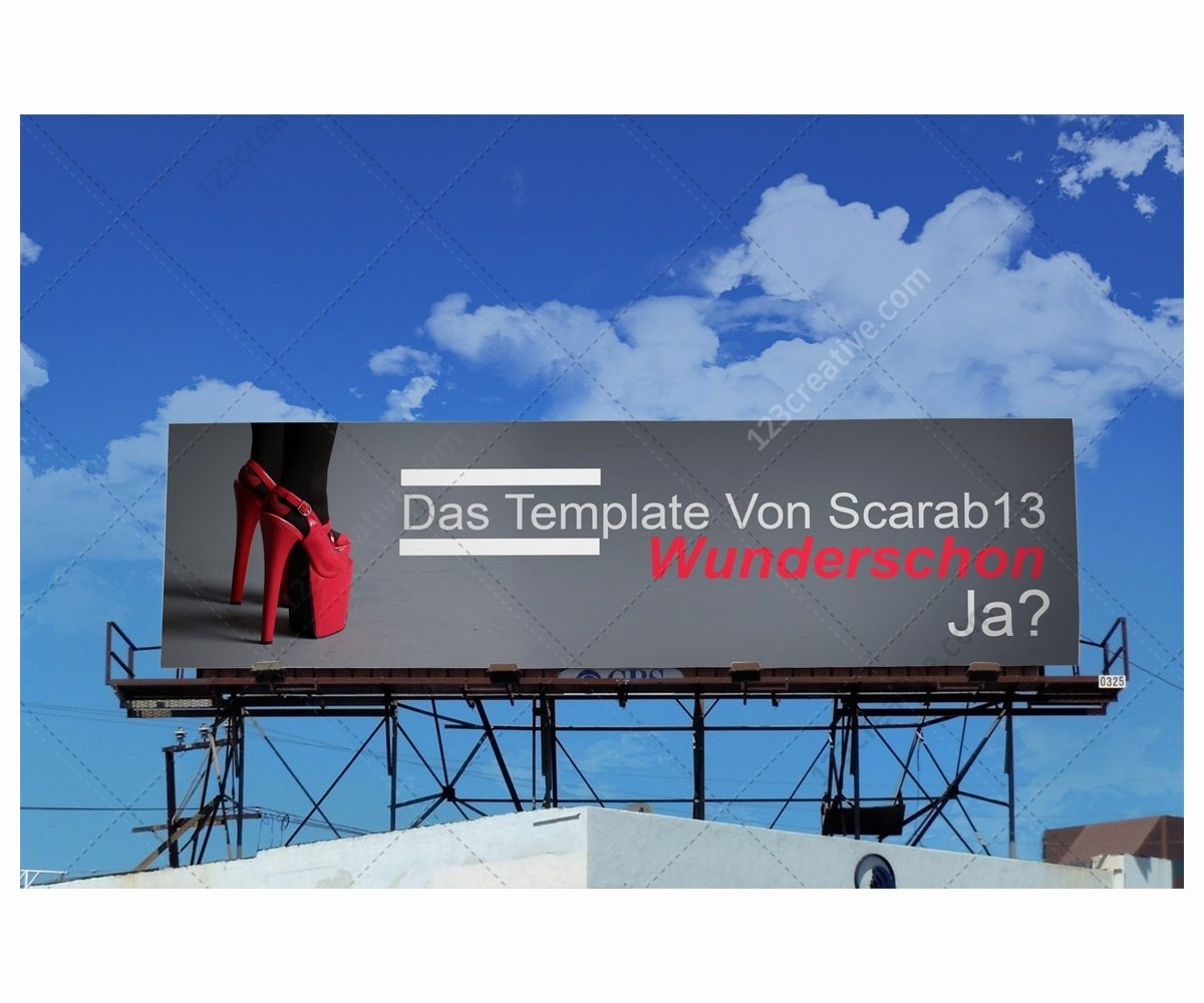 Billboard Design Template Free Elegant Sky Billboard Mockups Realistic Billboard Templates