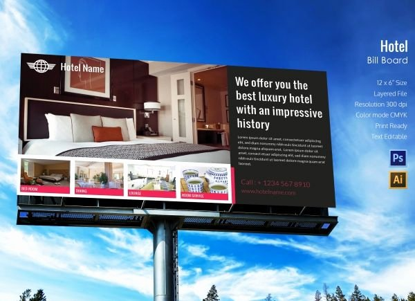 Billboard Design Template Free Inspirational Image Result for Hotel Billboard Advertising