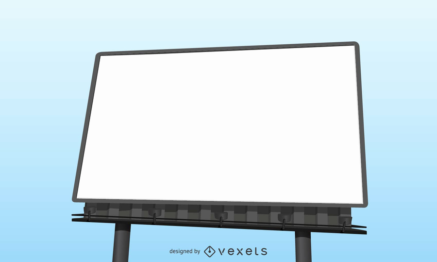Billboard Design Template Free Lovely Realistic Blank Billboard Template Vector
