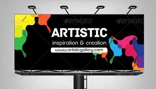 Billboard Design Template Free New Creative Billbaord Templates