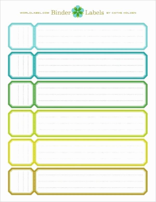 Binder Spine Label Template Elegant File Folder Label Template Binder – Puntogov