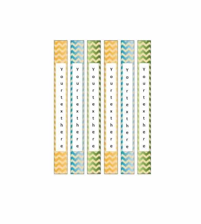 Binder Spine Label Template Fresh 40 Binder Spine Label Templates In Word format Template