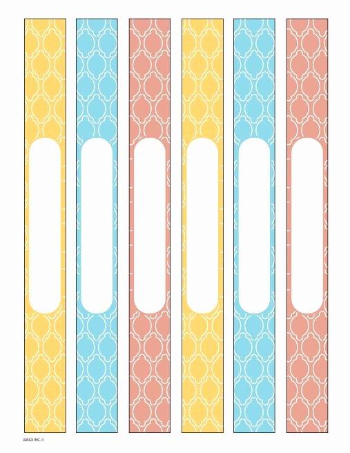 Binder Spine Label Template Luxury 25 Best Ideas About Binder Spine Labels On Pinterest
