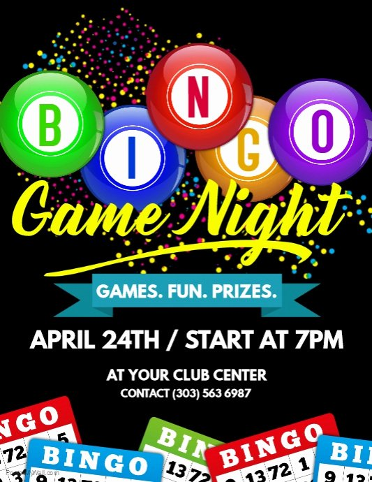 Bingo Flyer Template Free Lovely Bingo Flyer Template 15 Free Word Excel and Pdf