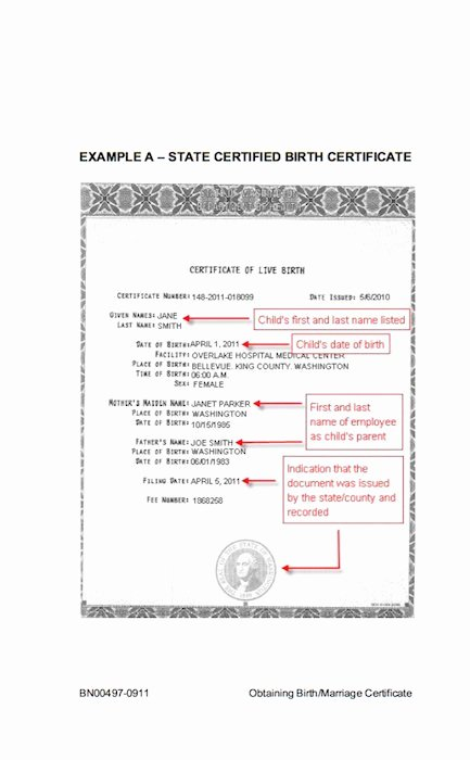 Birth Certificate Template Word New 15 Birth Certificate Templates Word & Pdf Free