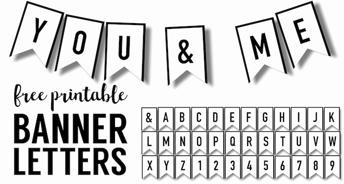 Birthday Banner Template Free Lovely Banner Templates Free Printable Abc Letters Paper Trail