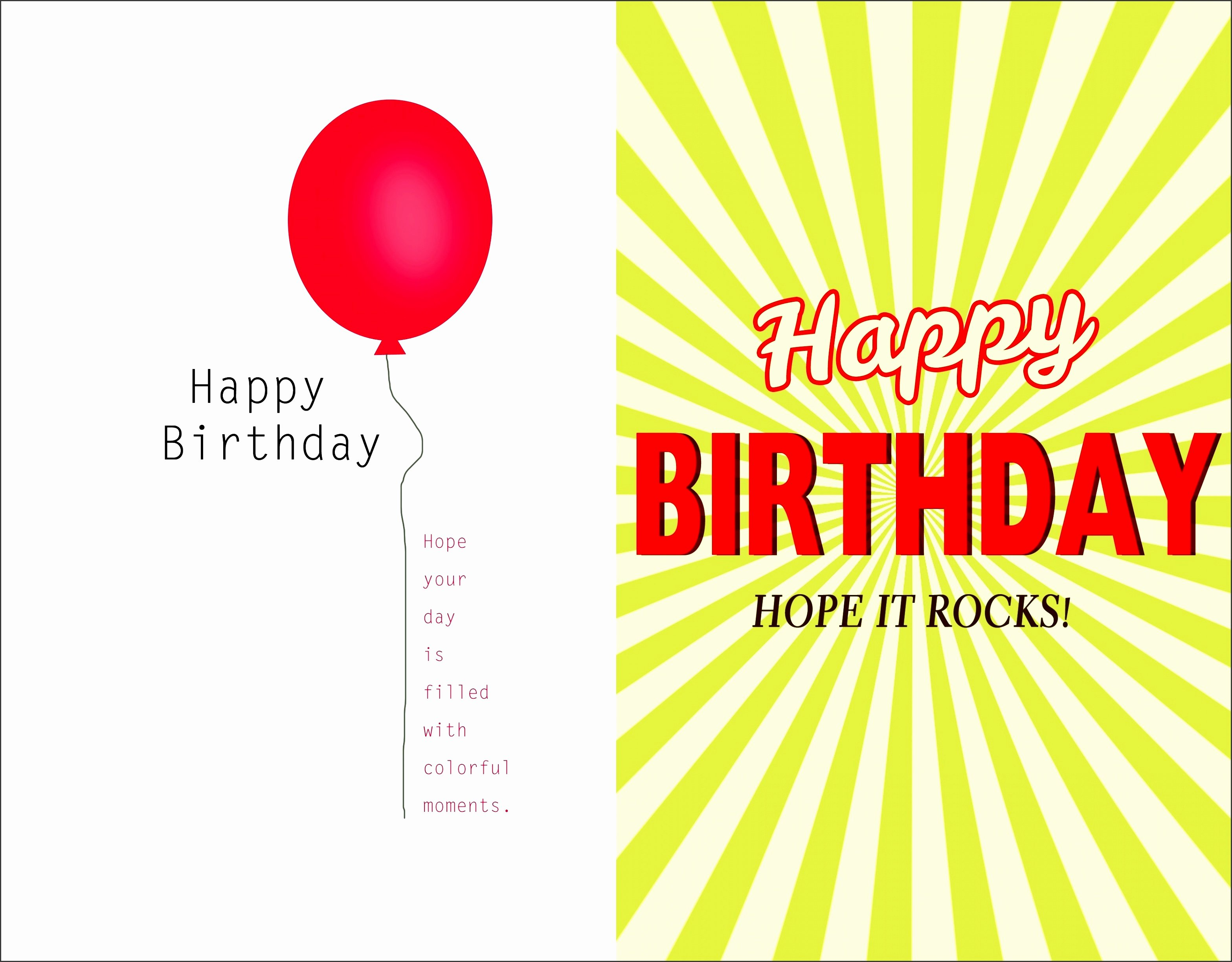 Birthday Card Template Photoshop Elegant 8 Shop Birthday Card Template Sampletemplatess