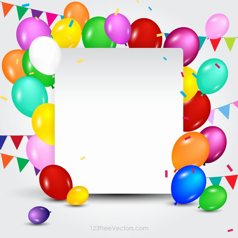 Birthday Card Template Photoshop Elegant Happy Birthday Card Template Free Vectors