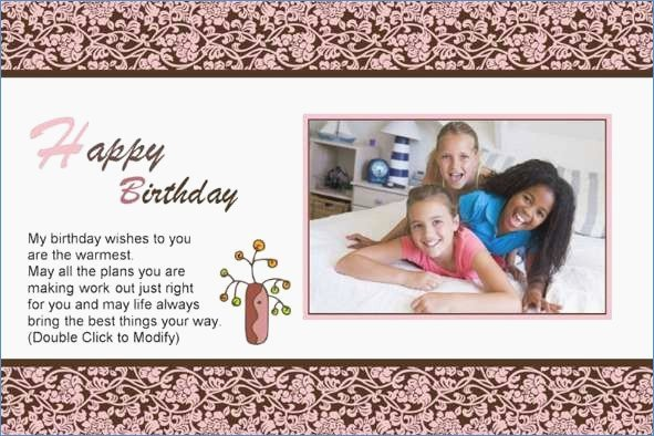Birthday Card Template Photoshop Lovely Birthday Card Template Shop – Draestantfo