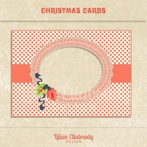 Birthday Card Template Photoshop Luxury Christmas Diy Printable Photo Cards Christmas Greeting