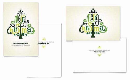 Birthday Card Template Publisher Beautiful Holiday & Seasonal Greeting Card Templates Word
