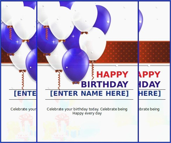 Birthday Card Template Publisher Lovely Free Birthday Card Templates for Word – Draestantfo