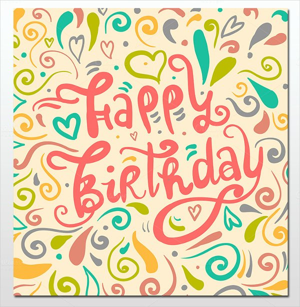 Birthday Card Template Word Elegant 16 Birthday Templates Free Psd Eps Word Pdf