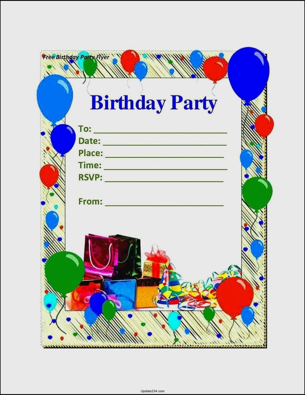 Birthday Card Template Word Fresh Blank Birthday Card Template Word Template Update234