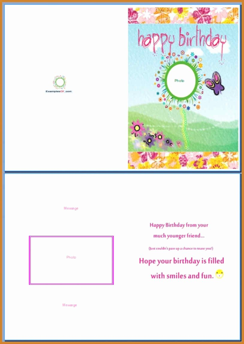 Birthday Card Template Word Fresh Greeting Card Template Word Notary Letter – thefreedl