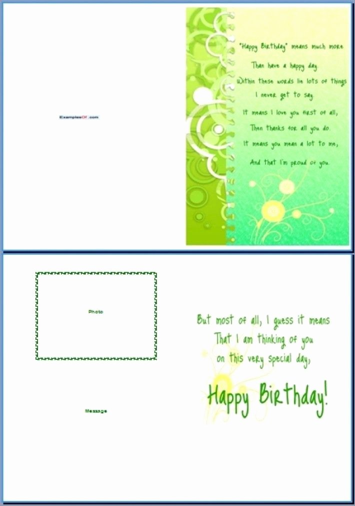 Birthday Card Template Word Lovely Word Greeting Card Template Word Greeting Card Template