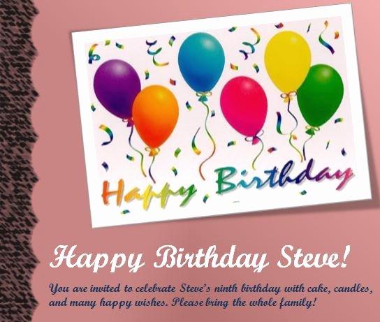 Birthday Flyer Template Word Elegant Invitation Templates