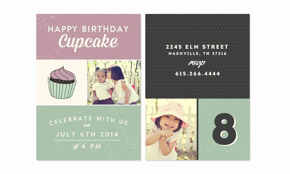 Birthday Invitation Template Photoshop Awesome Happy Birthday Kid Invitation Photoshop Templates the