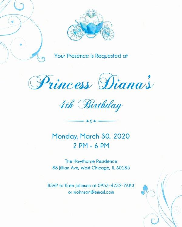 Birthday Invitation Template Photoshop Fresh 38 Kids Birthday Invitation Templates – Psd Ai