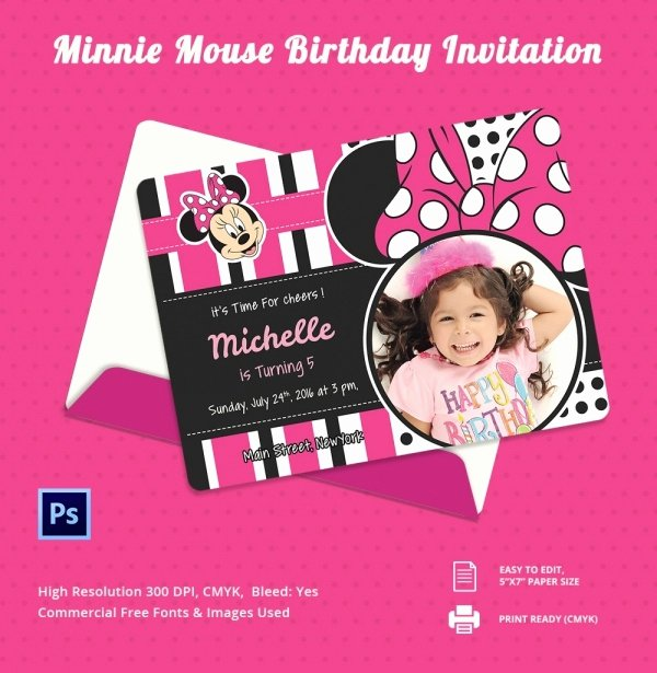 Birthday Invitation Template Photoshop Inspirational 33 Party Invitation Templates Free Psd Vector Eps Ai